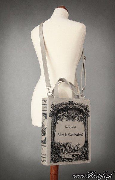 Book Bag Restyle Alice In Wonderland