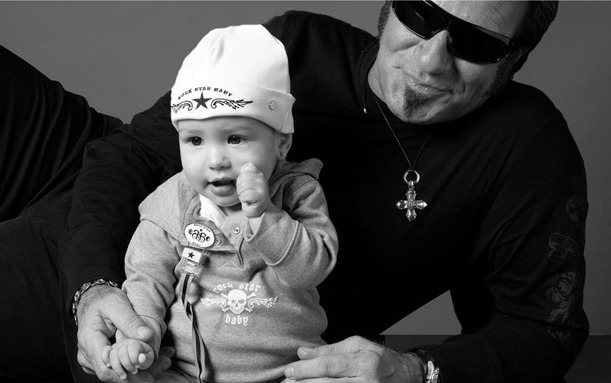 Afbeeldingsresultaat voor rock star baby
