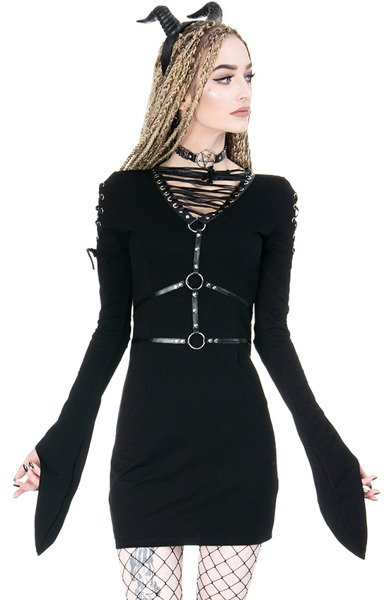 Dress Restyle Venom Womens Rock Fashion Dresses And Skirts