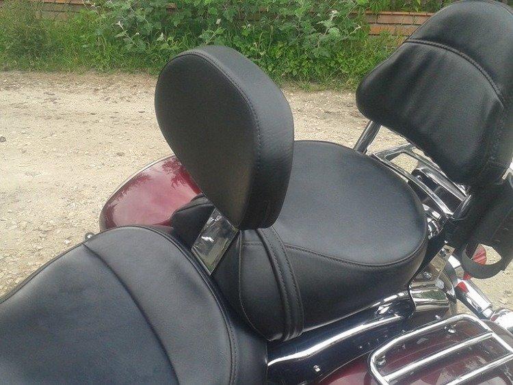 USED Driver/'s Backrest for Kawasaki Vulcan 1500 VN1500 Nomad Models