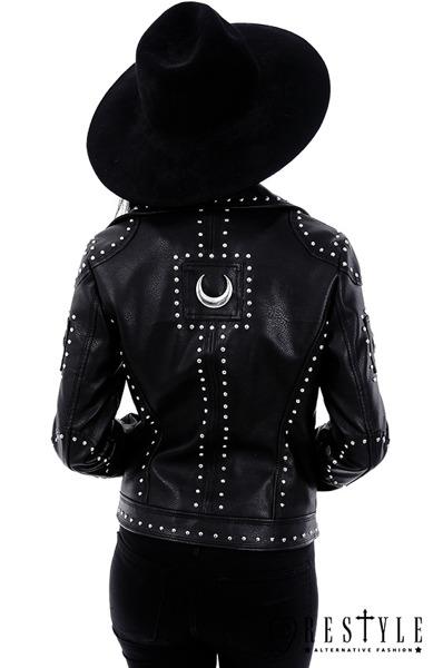 Jacket Restyle Iron Moon Biker Jacket Women S Rock Fashion