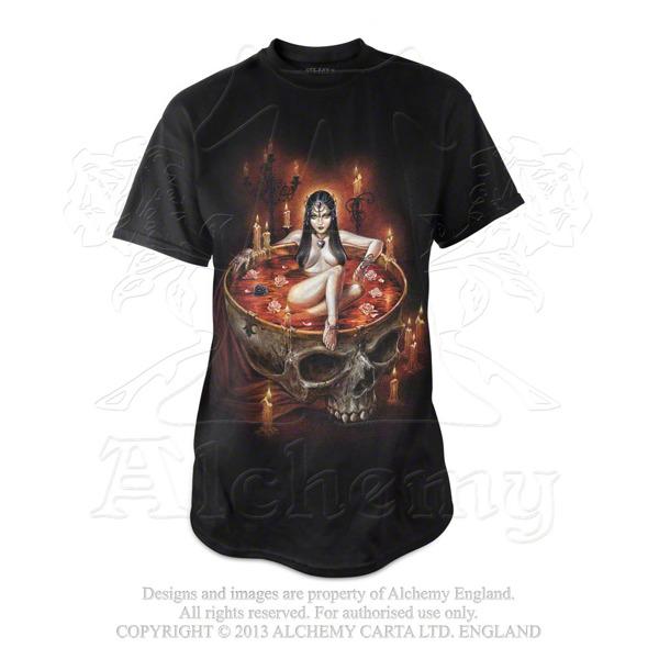 Short Sleeve T Shirt Alchemy Gothic Blood Bath Men S Rock Fashion