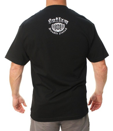 short sleeve T-Shirt OUTLAW THREADZ DOUBLE FISTED