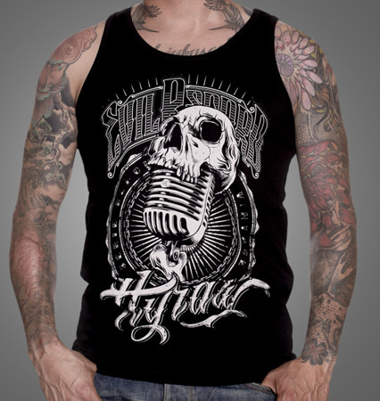 tank top HYRAW EVIL RECORD
