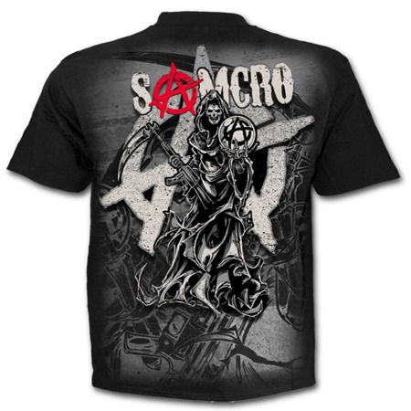 short sleeve T-Shirt SONS OF ANARCHY REAPER MONTAGE