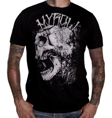 short sleeve T-Shirt HYRAW PUNK SHIT
