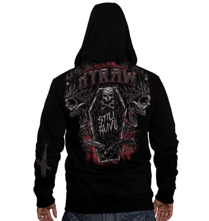 sweatshirt HYRAW DARK COFFIN