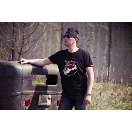 short sleeve T-Shirt RUSTY PISTONS LAUREL