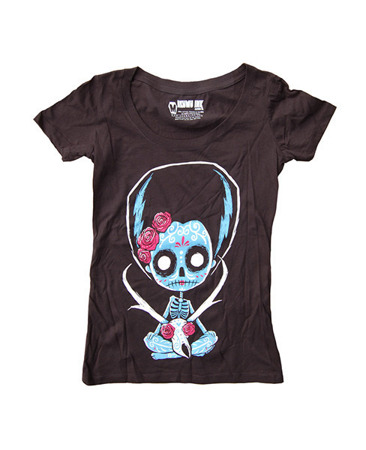 Short sleeve T-Shirt AKUMU INK PRONGHORN CATRINA