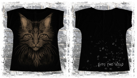 Short sleeve T-Shirt ALISTAR INTO THE WILD CAT