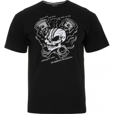 Short sleeve T-Shirt CHOPPERS DIVISION X-SKULL