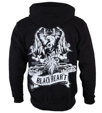 Sweatshirt BLACK HEART LEADER