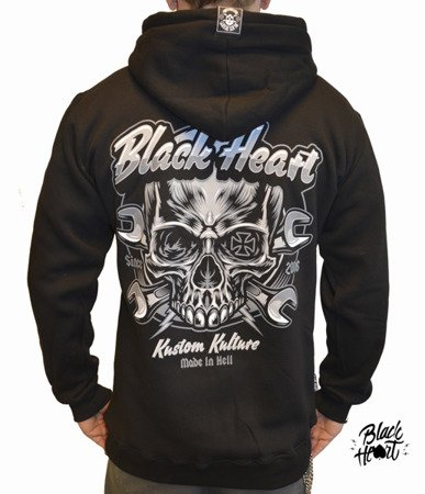 Sweatshirt BLACK HEART TRIGGER
