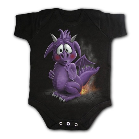 baby sleepsuit SPIRAL DRAGON RELIEF