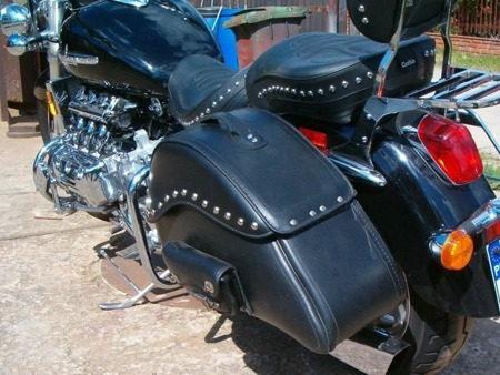 back engine guards EXTRA HONDA F6C VALKYRIE