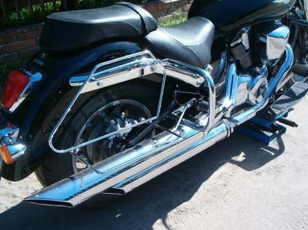 back engine guards EXTRA SUZUKI C 1800R INTRUDER