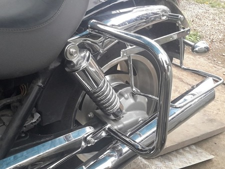 back engine guards EXTRA TRIUMPH ROCKET III