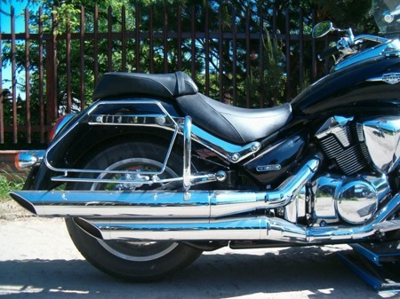 back engine guards STANDARD SUZUKI C 1800R INTRUDER