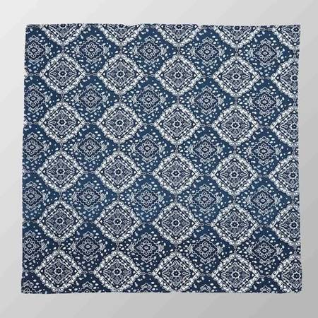 bandana ROCK DADDY PAISLEY DENIM BLUE