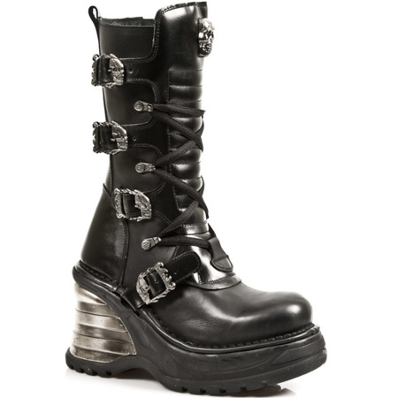 boots NEW ROCK METALLIC PLATFORM M.8374-S1