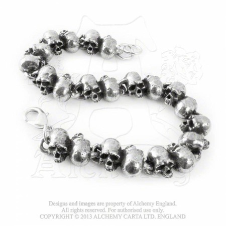 bracelet ALCHEMY GOTHIC KILLING FIELDS