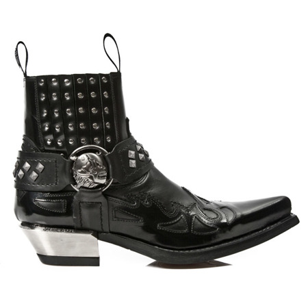 cowboy boots NEW ROCK WEST M.7950-S1