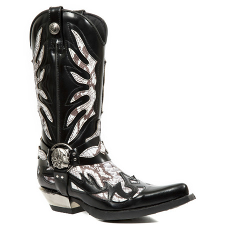 cowboy boots NEW ROCK WEST M.7991-S3