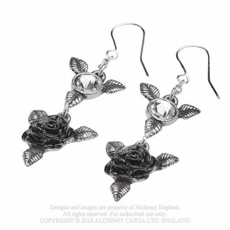 earrings ALCHEMY GOTHIC RING 'O ROSES