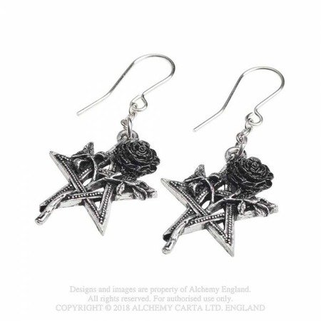 earrings ALCHEMY GOTHIC RUAH VERD
