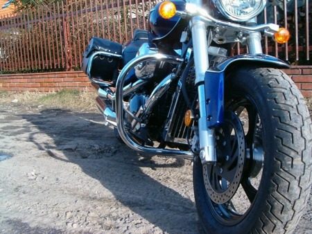 front engine guards EXTRA SUZUKI M 800 INTRUDER (M50 BOULEVARD)