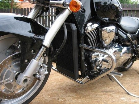 front engine guards STANDARD 2 SUZUKI M 1500 INTRUDER