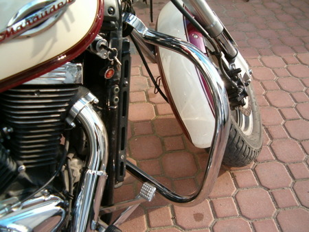 front engine guards STANDARD SUZUKI VZ 800 MARAUDER