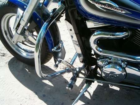 front engine guards incurved STANDARD SUZUKI VZ 800 MARAUDER