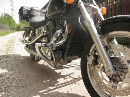 front engine guards with footrests HONDA VT 1100 SHADOW SPIRIT (SC18)