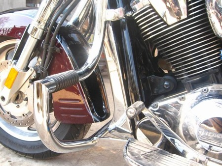 front engine guards with footrests HONDA VTX 1800 R/S/T RETRO