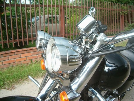 lightbar HONDA VT 1100 SHADOW SABRE