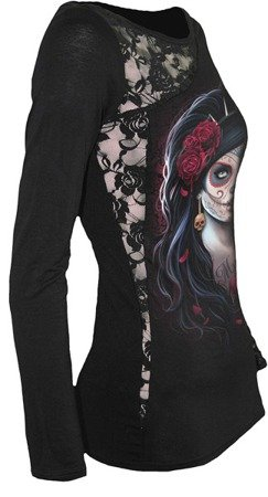 long sleeve T-Shirt SPIRAL DAY OF THE DEAD