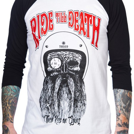 long sleeve T-Shirt TOXICO RIDE TILL DEATH