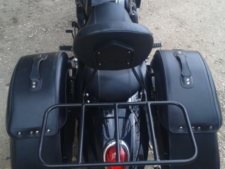 luggage rack MODEL 1 EXTRA TRIUMPH ROCKET III ROADSTER