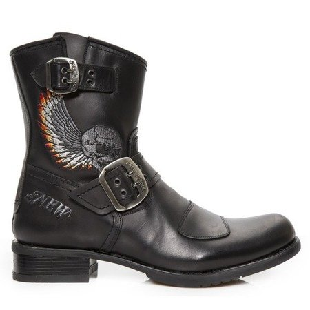 motorcycle boots NEW ROCK BIKER GY M.GY33-C5