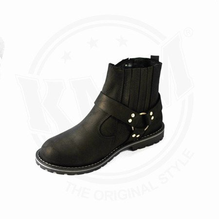 motorcycle shoes KMM MOTO 5 / CRAZY BLACK