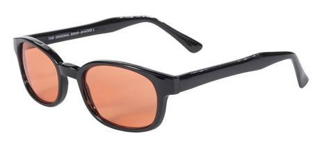 motorcycle sunglasses KD's ORANGE
