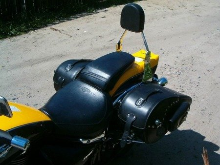 passenger backrest MODEL 1 SUZUKI M 800 INTRUDER (M50 BOULEVARD)