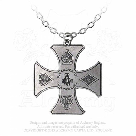 pendant ALCHEMY GOTHIC SHARP'S CROSS