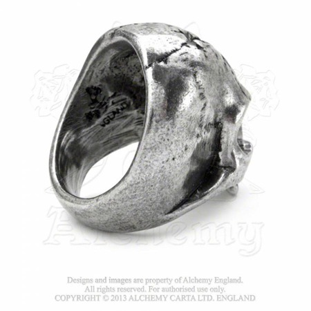 ring ALCHEMY GOTHIC RUINATION SKULL