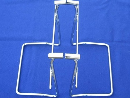 saddlebag support rails WITH PROPS SUZUKI C 1800R INTRUDER