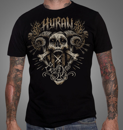 short sleeve T-Shirt HYRAW EVIL DEAD