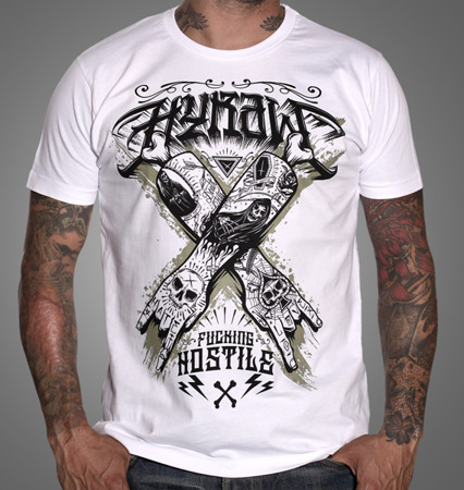 short sleeve T-Shirt HYRAW HOSTILE
