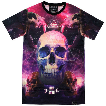 short sleeve T-Shirt KILLSTAR ANCIENT SPACE
