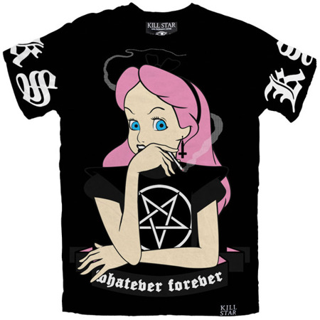 short sleeve T-Shirt KILLSTAR WHATEVER BLACK